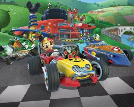 Mickey Mouse wallpaper Roadster Racers